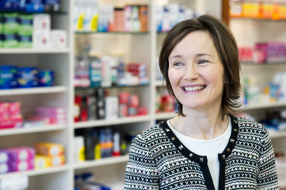 Pharmacist smiling portrait